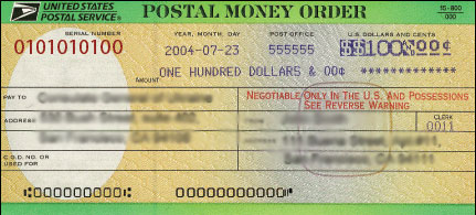 To order Spectacular Spirit Animal Prints by acclaimed animal – Money Order Form